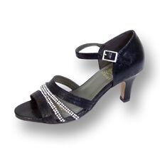 FIC FLORAL Eryn Women Wide Width Evening Dress Shoe for Wedding, Prom, & Dinner