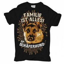 T-Shirt Deutscher Schäferhund rasse familie hunde dogs haustier zucht welpen