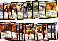 Magnifique lot de 23 dragons Magic ! + Creuset de feu