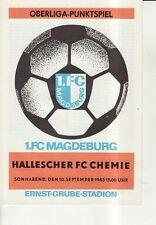 OL 83/84  1. FC Magdeburg - HFC Chemie