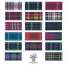 Berisfords Scottish Tartan Ribbon 25m Reel - Choice of 4 Width's and 17 Patterns