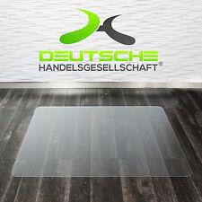 Bodenschutzmatte Stuhlunterlage Bürostuhlmatte Polycarbonat Hartboden Bürostuhl