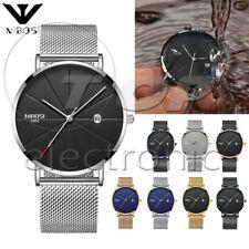 NIBOSI Unisex Style Watch Men and Women Watch Luxury Famous Top Brand Dress