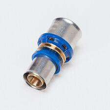 Pressfitting Kupplung reduziert Verbundrohr Aluverbundrohr DVGW 16 20 26 32 TH