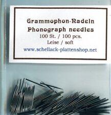 Neues AngebotGrammophon-Nadeln / Phonograph needles unterschiedliche Lautstärken