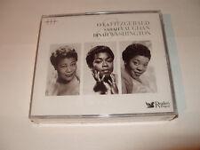 ELLA FITZGERALD/SARAH VAUGHAN/DINAH WASHING 3 cd 60 TRACKS-READERS DIGEST-2007