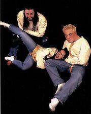 David Flair Daffney & Crowbar 8x10 Photo WCW New Hardcore Revolution WWE TNA ECW