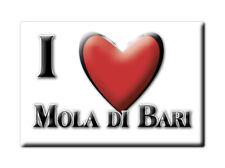 CALAMITA PUGLIA ITALIA FRIDGE MAGNET MAGNETE SOUVENIR I LOVE MOLA DI BARI (BA)