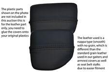 Negro Stitch encaja Mazda Mx5 Mk2 01-05 Miata Centro Consola sostenedor de taza Cubierta De Piel