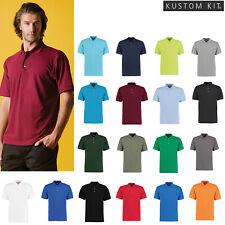 Kustom Kit Men's Workwear Super Wash T-Shirt Top (KK400) - Classic Fit Polo