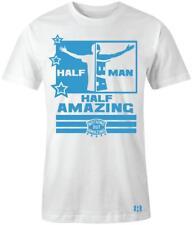 """Half Man Half Amazing"" T-shirt to Match Uptempo ""University Blue"""