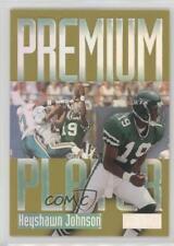 1997 Skybox Premium Players #7PP Keyshawn Johnson New York Jets Football Card
