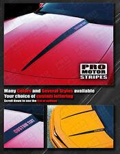 Chevrolet Camaro 2010-2015 Hood Cowl Side Spear Stripes Decals (Choose Color)