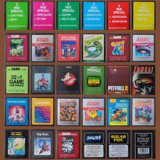 Atari 2600 ► les meilleurs kultspiele notamment Pitfall | Mario Bros | 32 in 1 | Pac-Man
