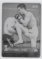 2014 Topps UFC Knockout Printing Plate Black #74 Steven Siler MMA Card