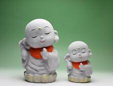 JIZO Bodhisattva Buddha Buddhism Figurine Ceramic Coin Piggy Bank Japan New