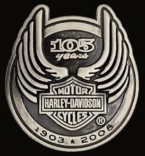 HARLEY DAVIDSON 105TH ANNIVERSARY PIN   NEW
