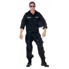 SWAT Costume Adult Halloween Fancy Dress