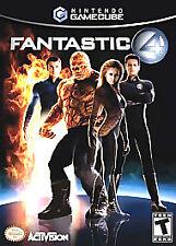 Fantastic 4 (Nintendo GameCube, 2005) COMPLETE GAME BOX MANUAL CUBE NES HQ
