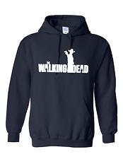 The Walking Dead Inspirado Sudadera Con Capucha Con Capucha Unisex Sudadera con capucha para hombre Negro Daryl pistola hombre