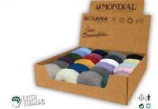 50g Mondial Bio Lana 100% Organische Wolle Schurwolle Winter ca. 100m LL