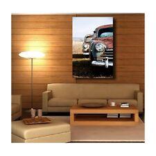 Tableaux toile déco rectangle verticale voiture cuba 3892709 Art déco Stickers