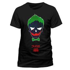 Suicide Squad The Joker Comic Skull Icon Head Schädel Männer Men T-Shirt Schwarz