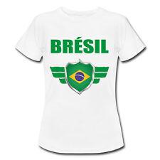 T-shirt Enfant Brésil - Coupe du Monde de Football 2018