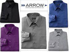 Camicia Uomo Arrow Su Misura Slim Fit facile manutenzione Cotone Ricco