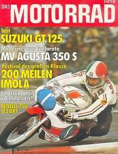 Motorrad 9 75 Benelli 750 Sei CCM CZ  MC Agusta 350 S 1975 Motorräder Italien