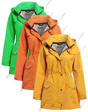 Nouveau imperméable manteau mesdames imperméable femmes veste taille 10 12 14 16 18 20 22 24