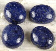 4 piezas de 8x6mm Oval Cabujón-Corte Natural Lapislázuli piedras preciosas £ 1 Nr!