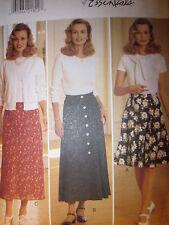 Butterick Pattern 4062 Misses FAST EZ Skirt 6-18 UNCUT