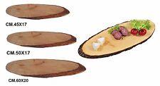 Imperdibile tagliere corteccia ovale servizio porta formaggi salumi varie misure