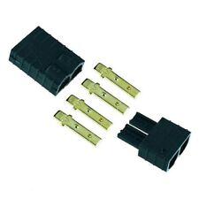 TRX Traxxas Male + Female Plug Socket RC Connector LiPo Battery