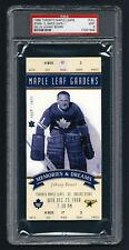 PSA 9 1998 Full Ticket Final Season Toronto Maple Leaf Gardens JOHNNY BOWER