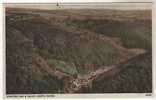 Hunter's Inn & Valley Photo Postcard 1961 / Lynton