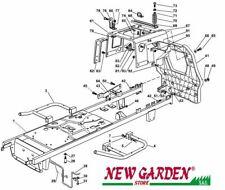 Vista desarrollada marco tractor podadora 98cm XL160HD CASTELGARDEN STIGA