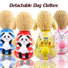 Dog Cat Clothes Chihuahua Cute Pet Vest Detachable Doll Mesh Breathable Shirts H