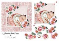 Baby 05 Decoupage 1 x A4 Sheet Not Die-Cut
