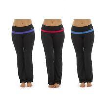 Tom Franks Señoras Pantalones Pantalones de Yoga Pantalones Fitness Entrenamiento Estilo Moderno S M L