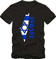 Israel T-Shirt T-Shirt Israel T-Shirt  Grafik  T-Shirt  DTG
