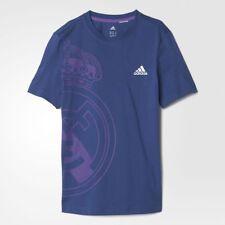 Adidas Niños Formación Camiseta Real Madrid Nuevo Camiseta (Tamaños de 5-16 Años)