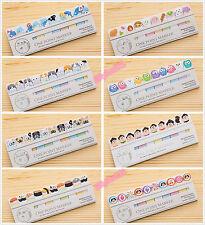Carino Animali japananese Sticky Notes LIBRO pagina marcatore POST LT MEMO ADESIVI UK