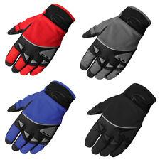 Men's Fulmer GT93 Gel Palm Gloves Motorcycle Riding MX Dirt Bike BMX ATV Trail