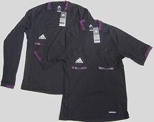 Adidas Schiedsrichter Referee Trikot 2012 schwarz UEFA FIFA DFB NEU!!!