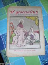 IL GIORNALINO# 6-7 FEBBRAIO 1932-PIA SOCIETA' SAN PAOLO