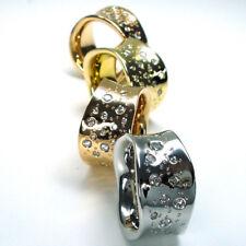 Diamant Ring - Wellenring mit 0.80 Karat Diamanten in 585/14K Rosegold