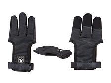 Buck Trail Schiesshandschuh Fingerschutz schwarz Recurvebogen Langbogen
