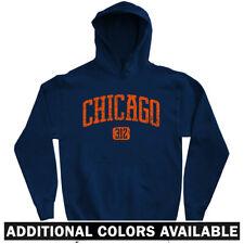 Chicago 312 Hoodie - Illinois IL Bulls Blackhawks Cubs White Sox Fire  Men S-3XL